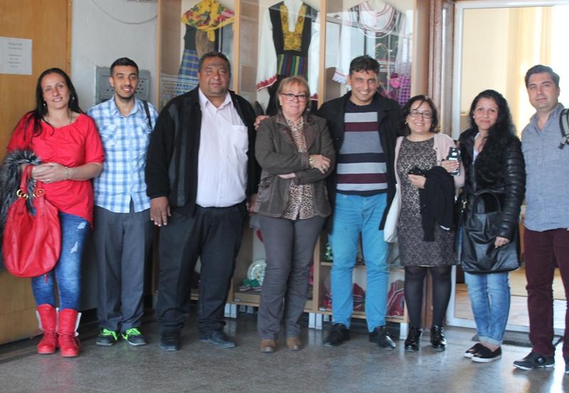 Bulgar Dimitor Straşimirov Okuluna Ziyaret