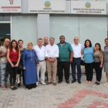 CHP Milletvekili ve PM üyesi Fikri Sağlar Federasyonumuzu Ziyaret Etti